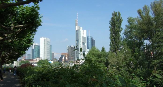 Besuch der Schülerinnen und Schüler aus Saint-Herblain in Frankfurt. Foto: Collège Le Hérault