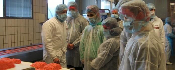Betriebsbesichtigung der 10a bei unserer Partnerfirma Brandenburg. Foto: Archiv