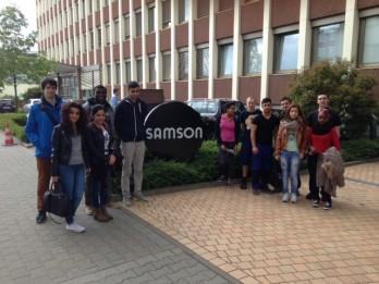 Besuch bei der Samson AG