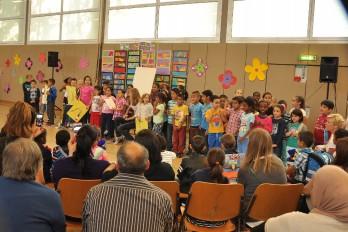 Einschulungsfeier am 9. September 2004